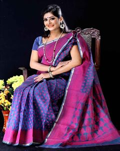 Picture of  Moslin Jamdani Saree -TSG-9313