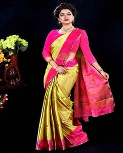 Picture of  Soft silk saree -TSG-9319