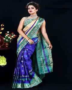 Picture of  Soft silk saree -TSG-9322