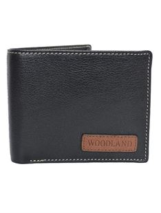 Picture of Woodland Wallet 524004 (Black)