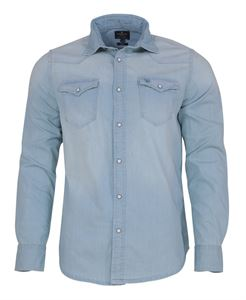Picture of Woodland Shirt MFDS 03 (ICEBLUE)