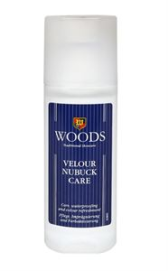 Picture of Woods Velour Nubuk Care Liquid Polish - Olive Green