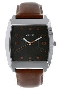 Picture of Sonata Men's Watch - 77064SL03