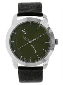 Picture of Sonata Men's Watch - 7924SL09