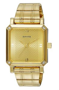 Picture of Sonata Men's Watch - 7087YM02