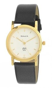 Picture of Sonata Men's Watch - 1141YL02