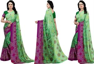 Picture of chundi silk saree n-039