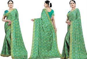 Picture of chundi silk saree n-040
