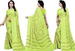 Picture of chundi silk saree n-041