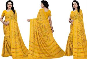 Picture of chundi silk saree n-089