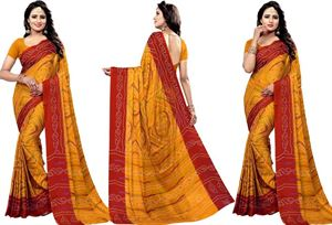 Picture of chundi silk saree n-093