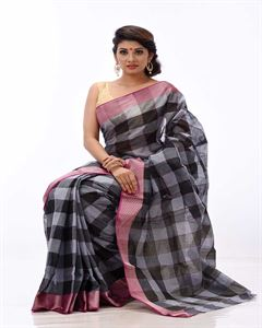 Picture of  Pure Cotton Saree - TSG-2297