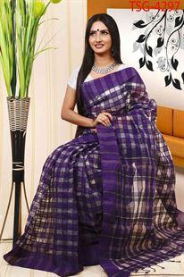 Picture of  Half Silk Kuta Saree - TSG-4297