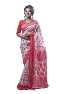 Picture of  Cotton Jamdani Saree - TSG-4365