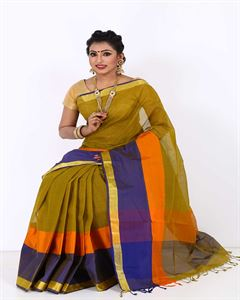 Picture of  Pure Cotton Saree -TSG-7714