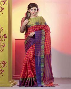 Picture of  Pure Cotton Saree -TSG-7981