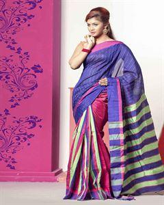 Picture of  Half Silk Saree -TSG-7994