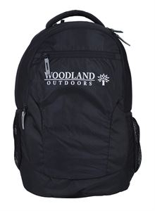 Picture of Woodland Backpack 130004 (BLACK)