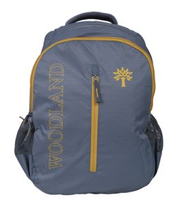 Picture of Woodland Backpack 120714 (GREY/YELLOW)