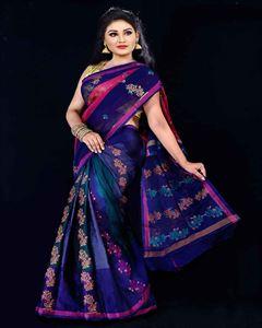 Picture of  Soft cotton saree -TSG-9328