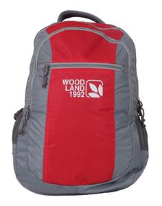 Picture of Woodland Backpack 93629 (GREY/RED)