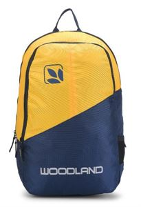 Picture of Woodland Backpack 131136 (YELLOW/NAVY)