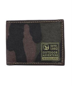 Picture of Woodland Wallet 341B01 (Cmflg Green)