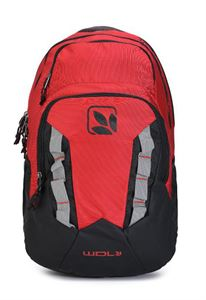 Picture of Woodland Backpack TB 139404 RED/BLACK