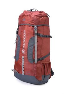 Picture of Woodland Backpack TBH 010F32 RUST/MGREY